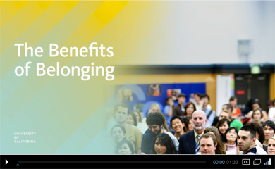 Benefits of Belonging video