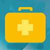 Graphic of medical suitcase